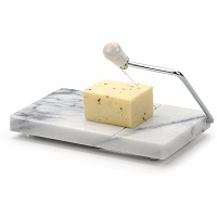 RSVP INTERNATIONAL Wht Mrbl Cheese Slicer