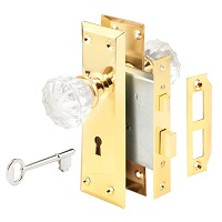 Defender Security E 2311 Mortise Keyed Lock Set