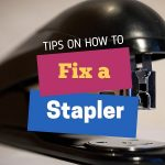 How to fix a stapler