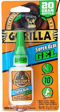 Gorilla Super Glue Gel, 20 Gram
