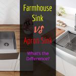 Farmhouse Sink Vs Apron Sink