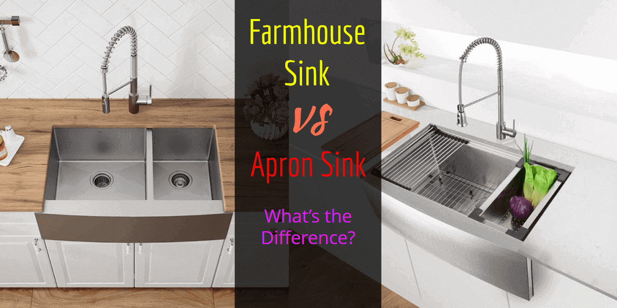 Farmhouse Sink vs Apron Sink