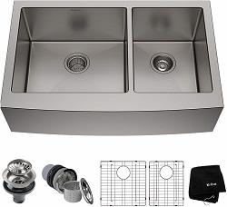 Kraus KHF203-33 Standart PRO Kitchen Stainless Steel Sink