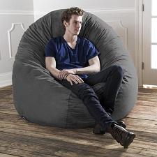 Jaxx 6 Foot Cocoon - Large Bean Bag Chair