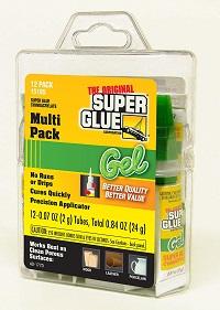 Super Glue 15185 Gel, 12-Pack