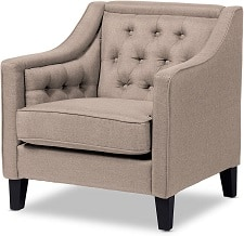 Wholesale Interiors Vienna Classic Retro Armchair