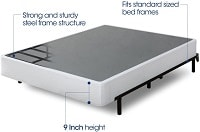 Zinus 9 Inch High Profile Smart Box Spring