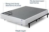 Zinus 9 Inch High Profile Smart Box Spring