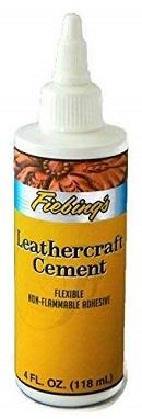 Fiebing's Leathercraft Cement, 4 oz