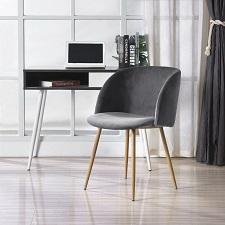 EGGREE Modern Velvet Accent Living Room Chair,Upholstered Armchair