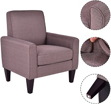 Giantex Modern Accent Arm Chair