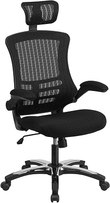Flash Furniture High Back Black Mesh Executive Swivel Chair