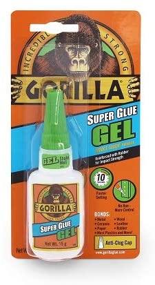 Gorilla Super Glue Gel, 15 Gram