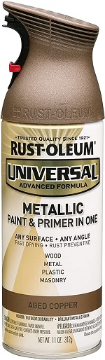 Rustoleum 249132 Universal Metallic 11 oz Spray Paint