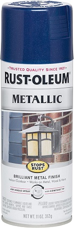 Rust-Oleum 7251830-6PK Stops Rust Metallic Spray Paint