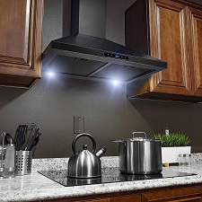 Golden Vantage Wall Mount Stainless Steel Kitchen Range Hood