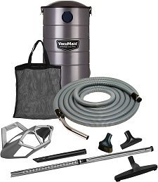 VacuMaid GV50PRO Wall Mounted Garage and Car Vacuum