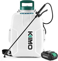 KIMO 3 Gallon Battery Powered Backpack Sprayer