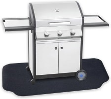 GRILLTEX Under the Grill Protective Deck and Patio Mat
